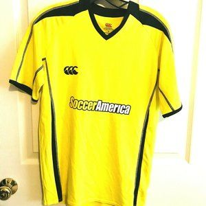 Canterbury Of New Zealand Soccer Jersey S Yellow